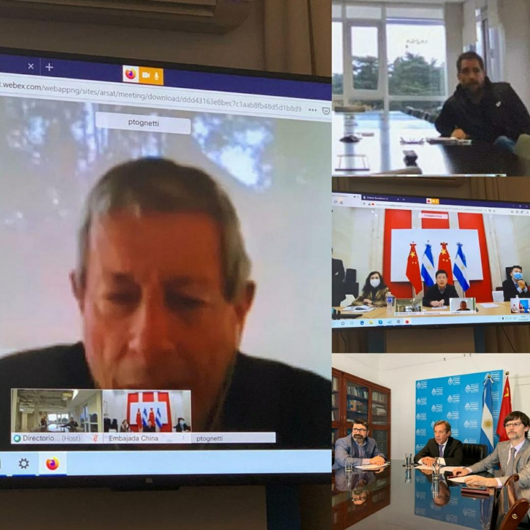 Reunión clave junto a los representantes de las embajadas de China y Argentina