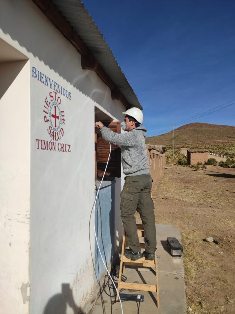 Conectamos a Centros de Salud de Jujuy mediante internet satelital