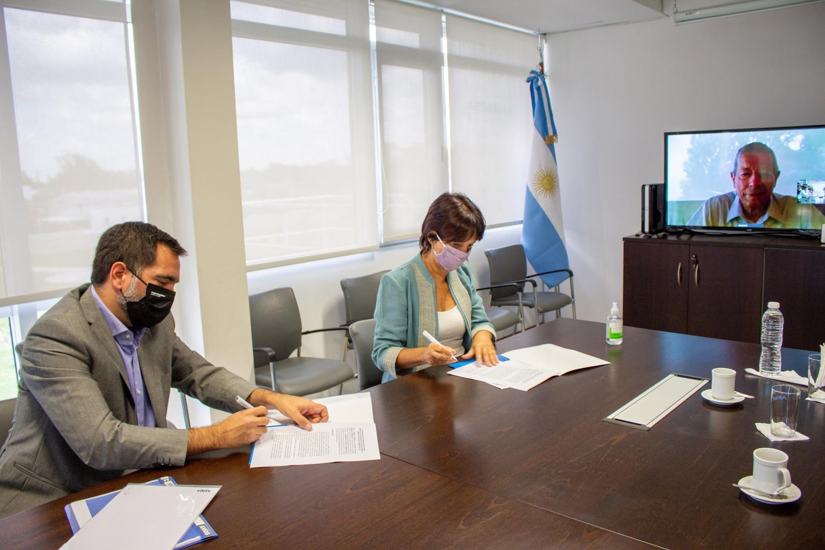 Firmamos un convenio tecnológico con la AFIP
