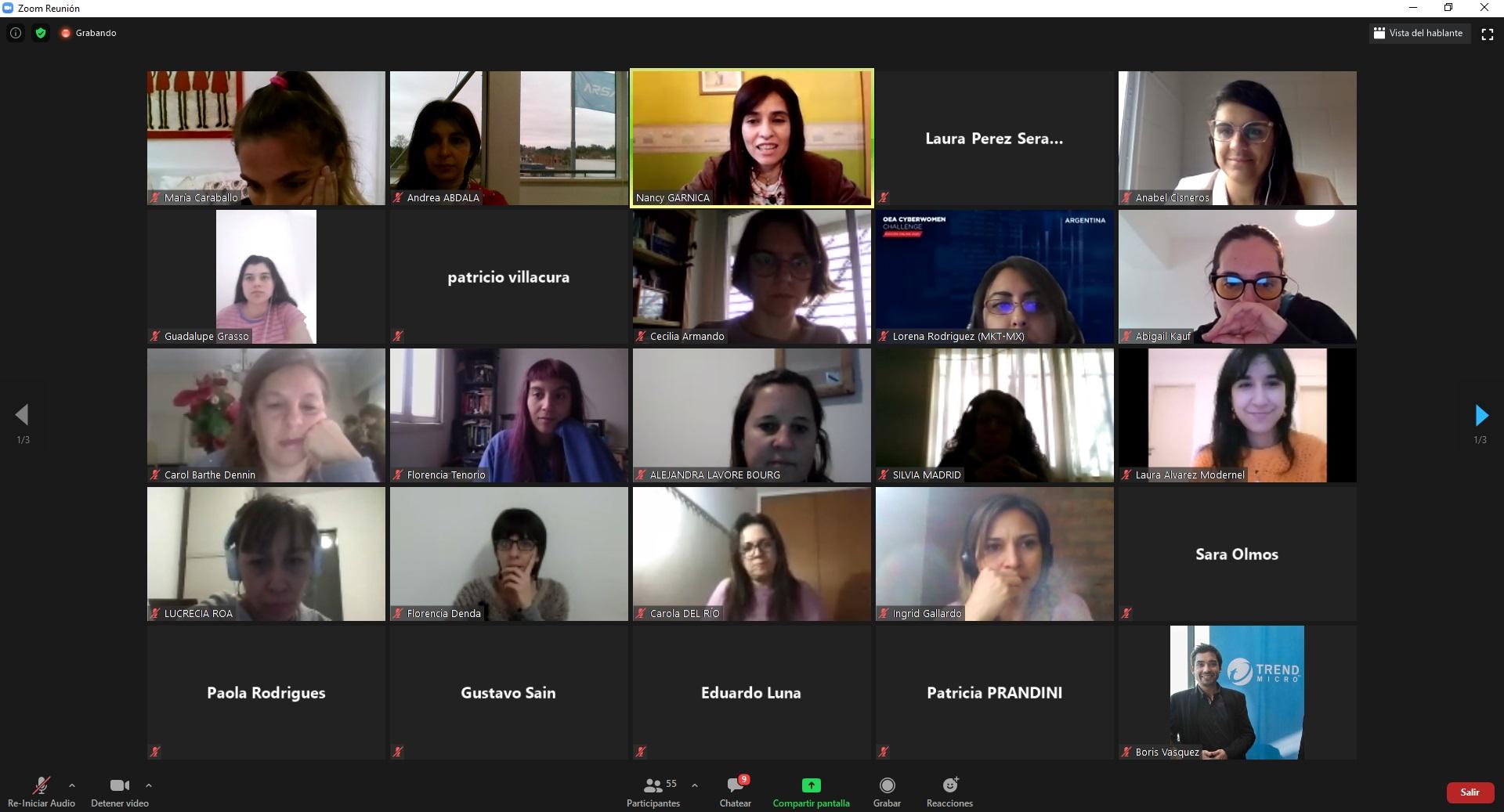 """Se realizó en Argentina la segunda edición del """"OEA Cyberwomen Challenge"""""""