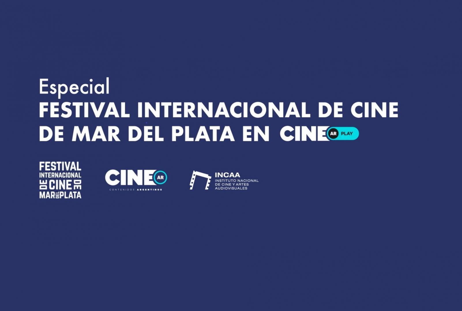 En CINE.AR Play se palpita el Festival de Cine Internacional de Mar del Plata