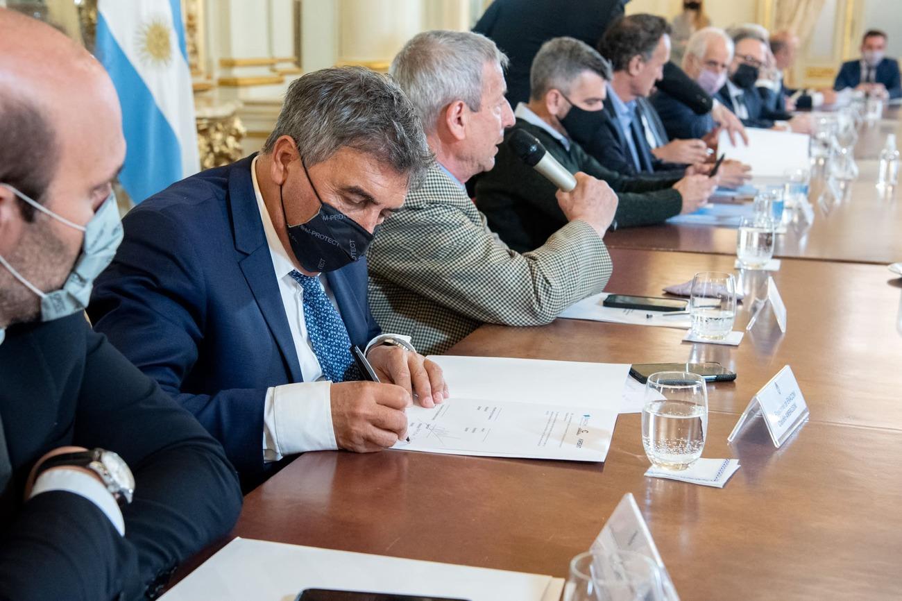 Acordamos con Catamarca ampliar el despliegue de nuestra REFEFO en la provincia