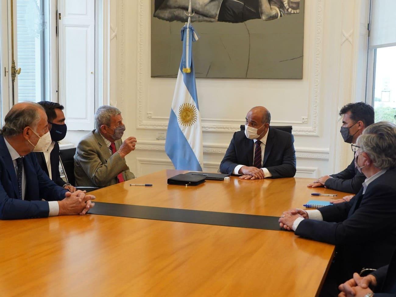 Reforzaremos el tendido de la REFEFO tras un acuerdo con la Secretaría de Energía