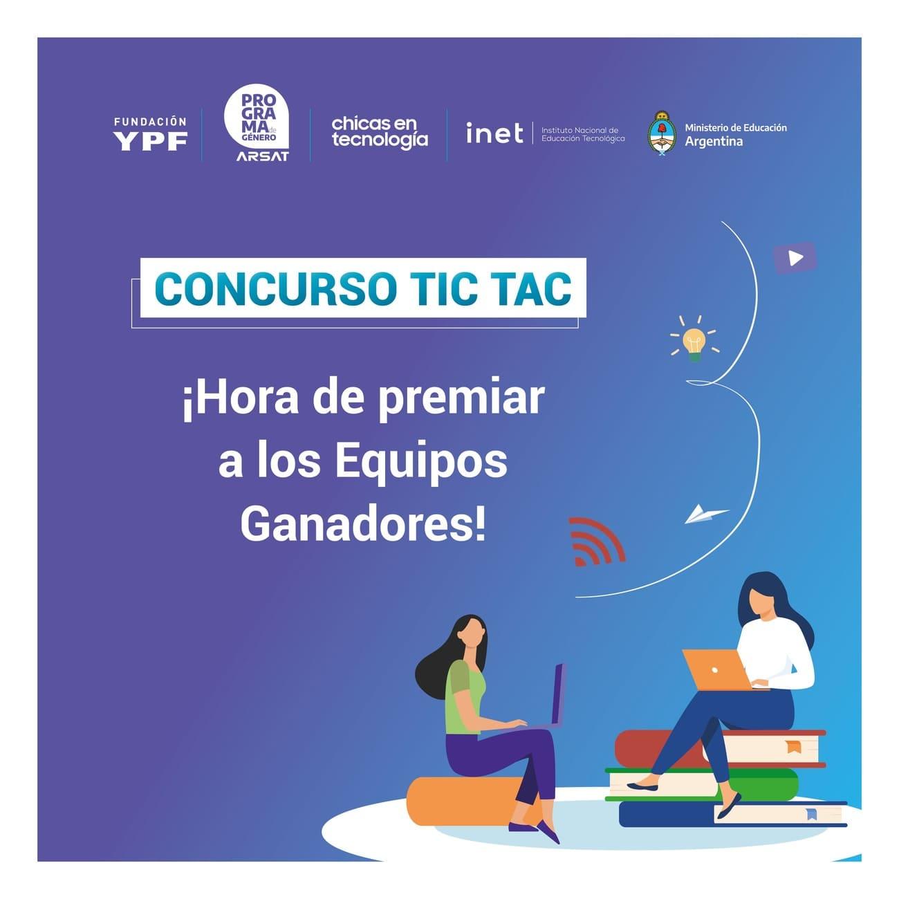 """Concurso """"TIC TAC, Hora de Innovar"""": equipos ganadores"""
